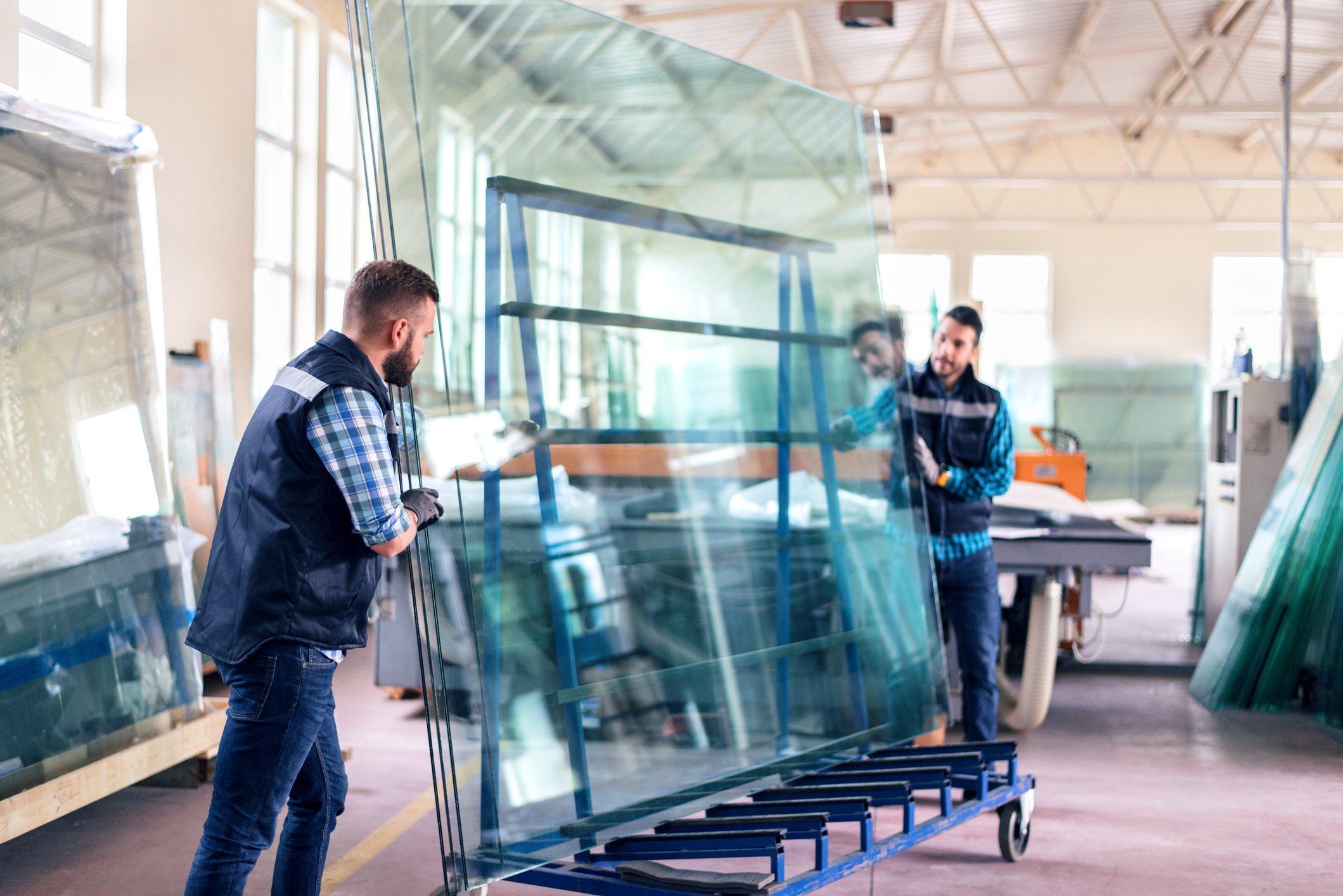 flat-glass-storage